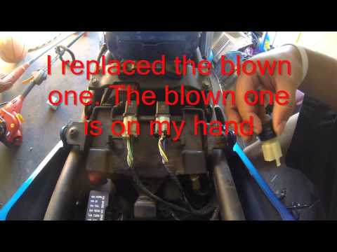 Kawasaki Ninja 250r starter problems(Dyod/fuse)fixed