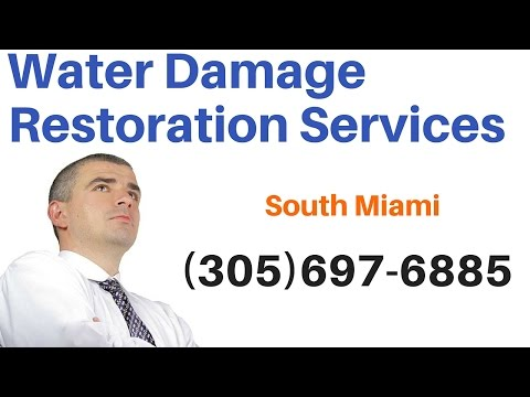 Water Damage Repair Services in South Miami, Florida