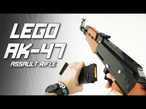 LEGO AK-47 Assault Rifle