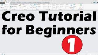 Creo Tutorial for Beginners - 4 | Creo Mirror, Datum Plane, Measure