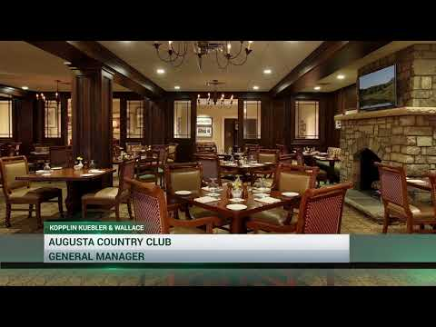 General Manager Career Opportunity at Augusta Country Club