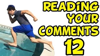 RUNNING ON WATER | Reading Your Comments #12