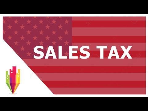O que é SALES TAX? Obrigações dos vendedores da Amazon, Ebay, Shopify, etc