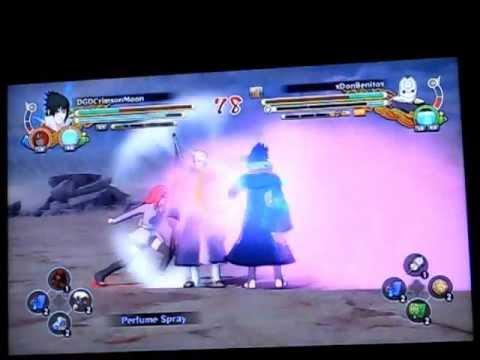 Naruto Storm 3 DGDCMoon Ranked Ep.1 - Taka and Eternal Mangekyo
