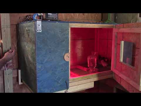 Brooder Update: Adding a Thermostat
