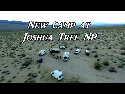 Caravan to Joshua Tree NP VanLife On the Road