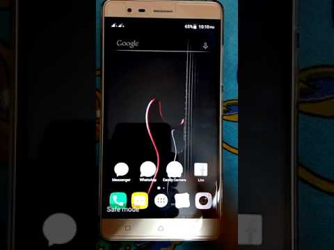 How to solve screen overly in lenovo k5 note
