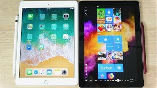 Should You Buy iPad 2018 or Surface Go?