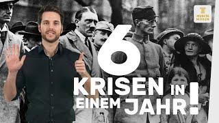 Die Weimarer Republik I Das Krisenjahr 1923 I musstewissen Geschichte