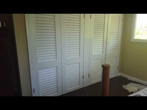 Tommy loves Angel louvered doors after
