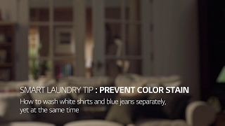 LG TWINWash™ Washing Machine:  Prevent Color Stain
