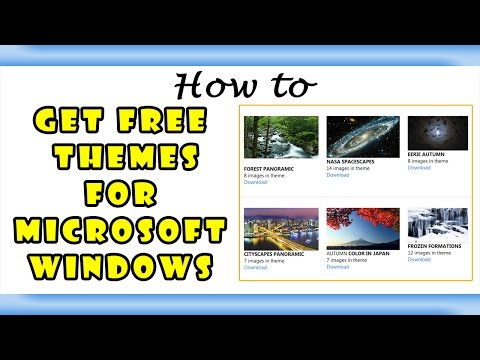 Howto Get Windows Theme for Free  Beautiful Desktop Themes 