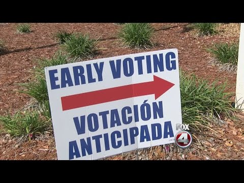 Early voting numbers in Florida surge from 2012 election