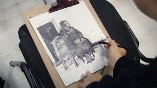 Ольга Иордан о рисовании по школе ВХУТЕМАСа. Первая часть, о графитном рисунке