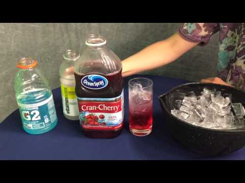 How to make a layered drink