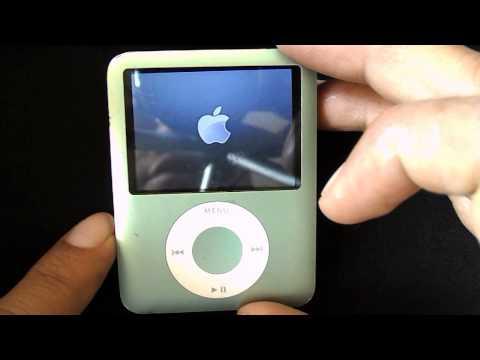 Como Resetear Un Ipod CLassic, nano, Ipod viejito cuando se bloquea