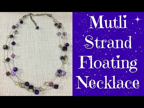 How to Make a Multi Strand Beaded Necklace