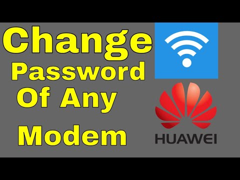 How To Change Default WiFi Password on any Huawei Modem Urdu/Hindi MUB