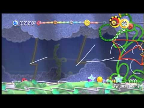 Kirby's Epic Yarn Fangor & Secret Levels 100% Walkthrough