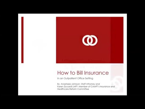 How to Bill Insurance in an Outpatient Office Setting