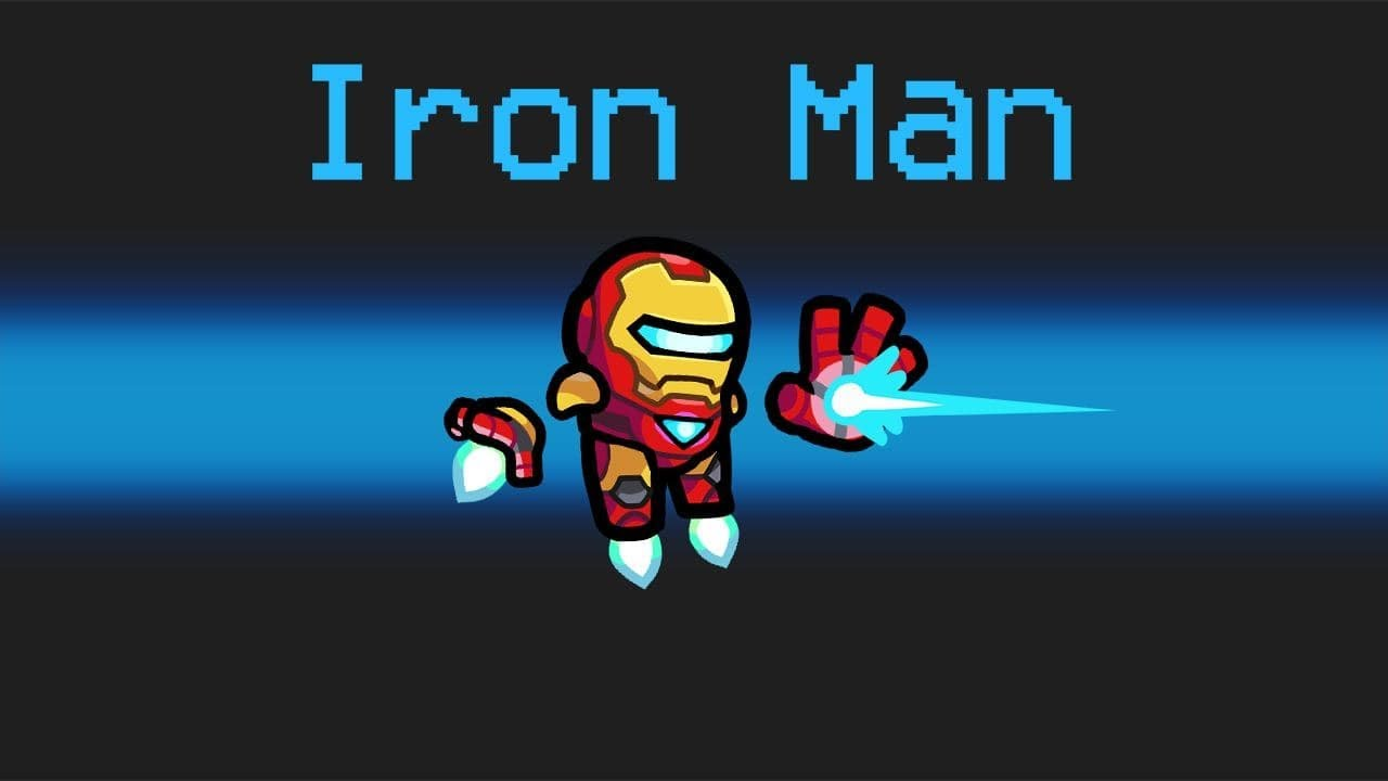 IRON MAN Imposter Role in Among Us