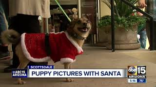 Santa spreads howl-a-day spirit in Scottsdale