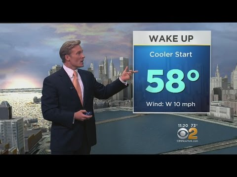 Saturday Will Get Off To Cooler Start