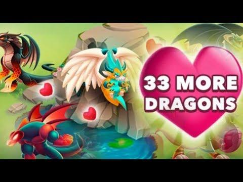 Dragon City - 33 New Breedable Dragon! Yoda, Spider-Man & More