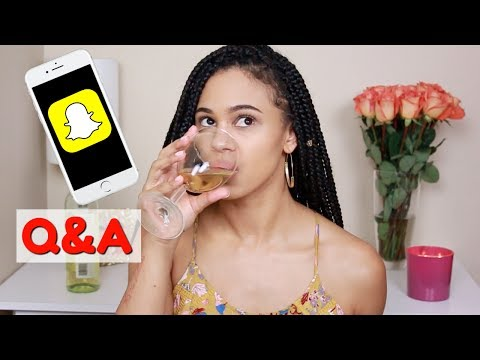 Snap Chat Q&A   My Own Product Line, How I Met My BF + More!!!