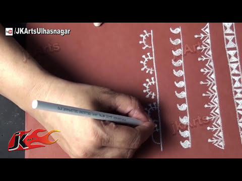 Warli Painting Borders (#1) - JK Arts 547