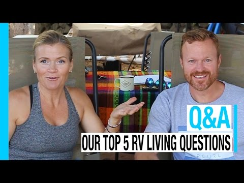 RV LIVING Q&A: OUR TOP 5 QUESTIONS | KEEP YOUR DAYDREAM FULL-TIME VLOG