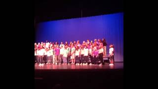 Jasmine B North Farmington Spring Choir 2012