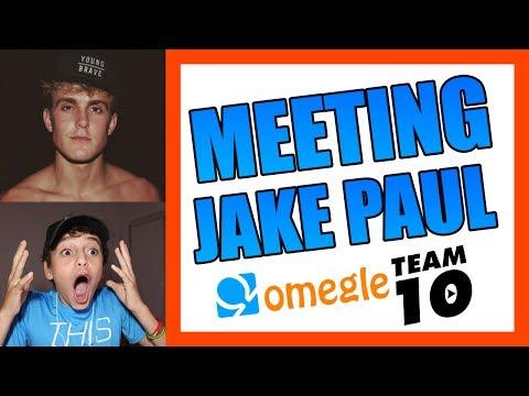MEETING JAKE PAUL ON OMEGLE!!!