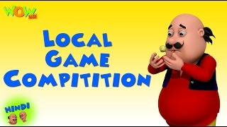 Local Game Competition | Motu Patlu in Hindi | 3D Animation Cartoon | As on Nickelodeon