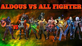 ALDOUS VS ALL FIGHTERS || GAMING PLANET