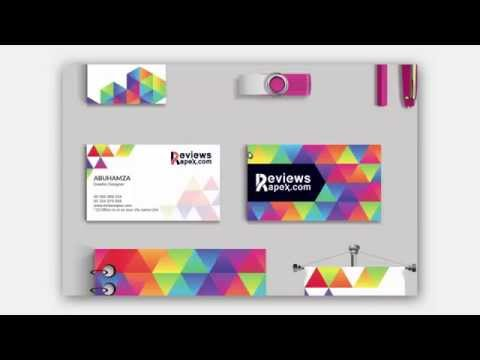 Modern Graphic Stationery Design Template Download Free