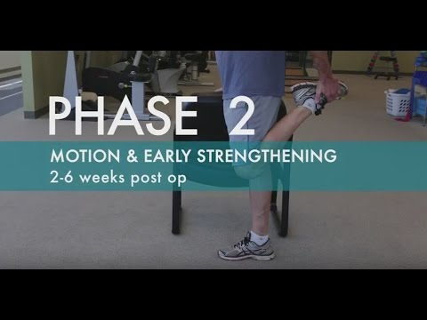 Knee Replacement Exercises | Knee Replacement Rehab | Phase 2