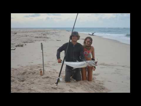 The Fish of a Lifetime - King Mackerel off the Beach