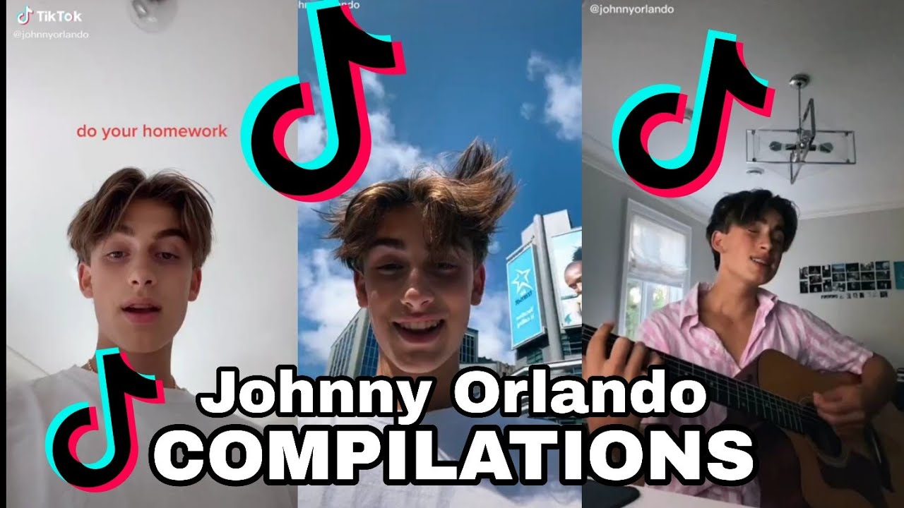 Johnny Orlando tiktok compilation  siimple study