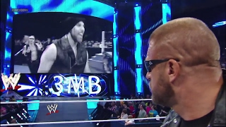 The Shield and 3MB barge in on Triple H