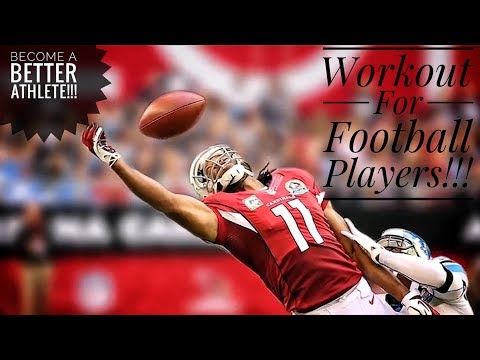 Leg Workout For Football Players (Strength & Explosiveness) *Intense Core Training Routine*