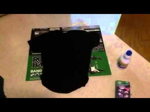 How to make Rock Band Road Crew T-shirt