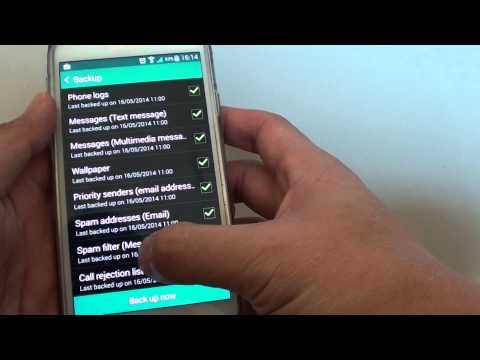 Samsung Galaxy S5: How to Backup Data to the Cloud