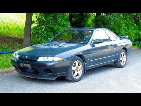 1991 Nissan Skyline GTS-T Auto Spoiler (USA Import) Japan Auction Purchase Review