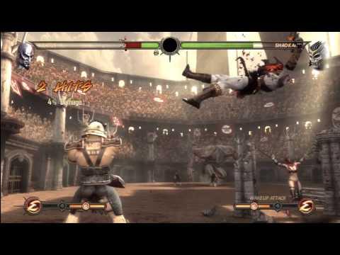 [HD] MK9 Kratos Ladder Gameplay Pt. 6