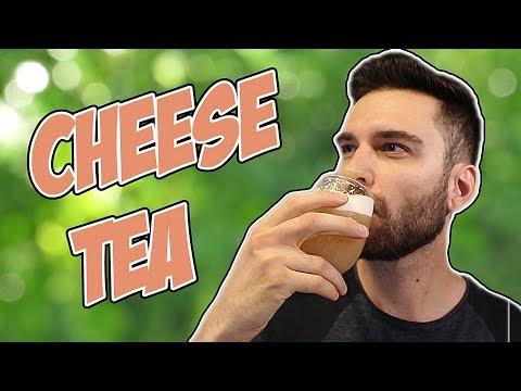 Making Cheese Tea