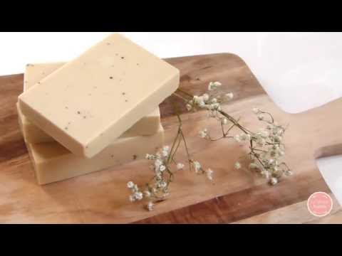 How To Make Natural, Homemade Soap