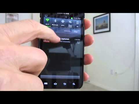 How to take a Screen Shot on Android 4.0 Ice Cream Sandwich on the Samsung Galaxy S2
