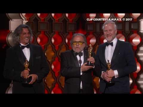 Oscar 2017 Miglior Trucco - Clip