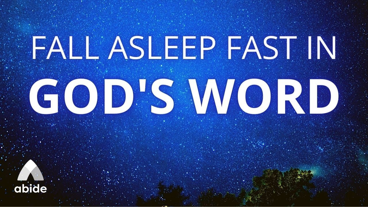 Fall Asleep Fast in God's Word 😴 Christian Guided Meditation with Relaxing Music for Deep Sleep